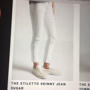 Current Elliott stiletto sugar jeans. 28